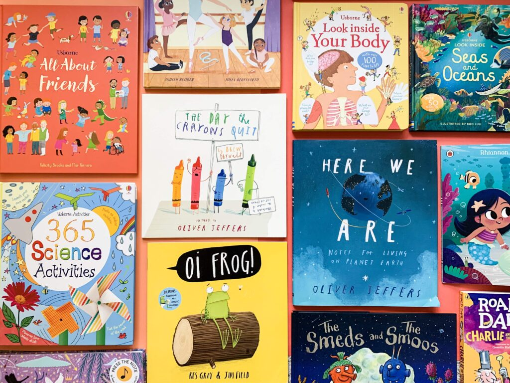 Books for 5 year olds - Feature image