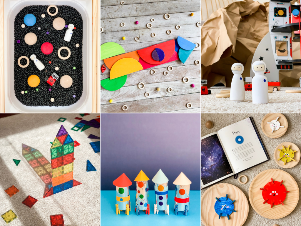 25 Fantastic Space Activities for Toddlers - Feature
