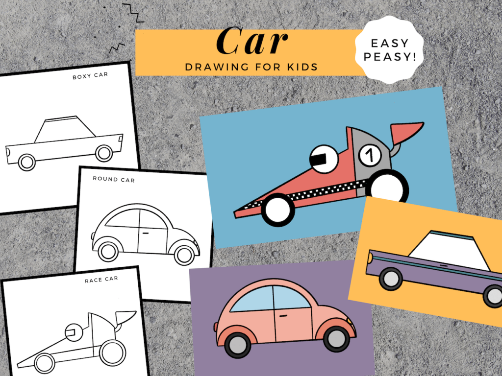 Car Drawing for Kids Feature